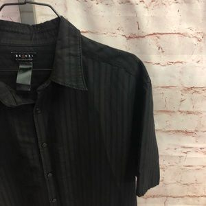 Axcess a Claiborne company button front shirt